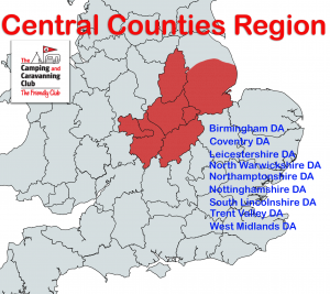 Central Counties Region Map