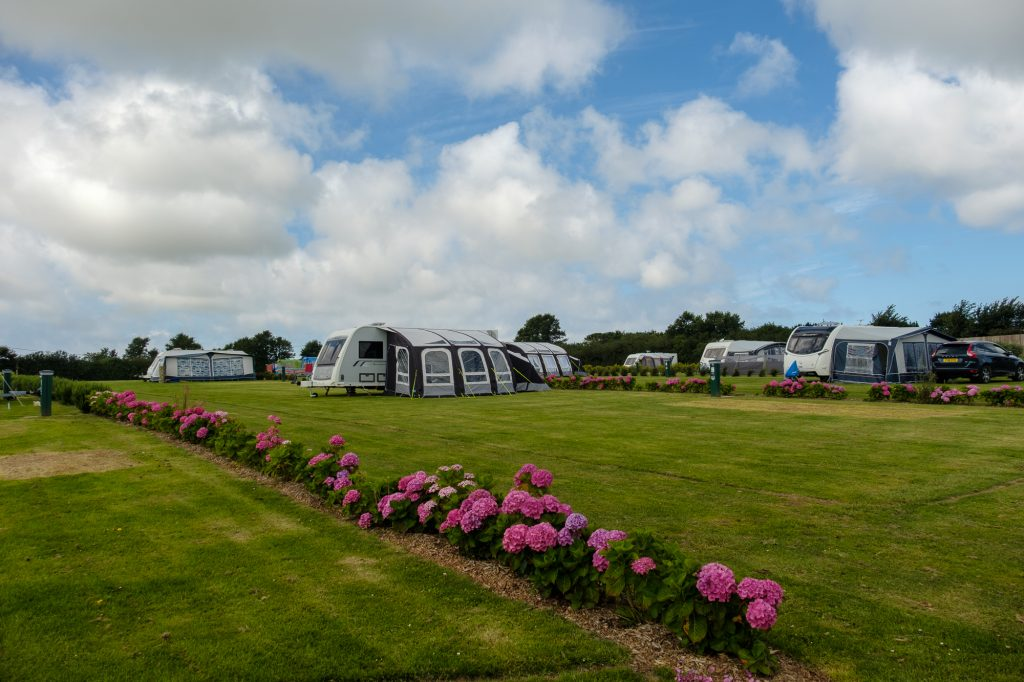 CCR Hendra Holiday Site, Cornwall.